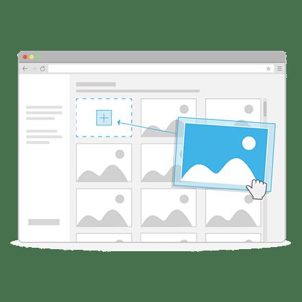 Nieuwsbrief image hosting