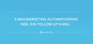 Follow-up e-mail