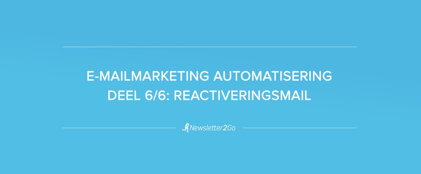 Reactiveringsmail