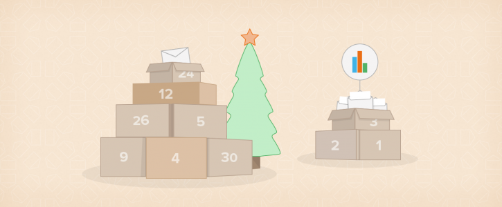 Ontspannen e-mailmarketing tijdens de feestdagen