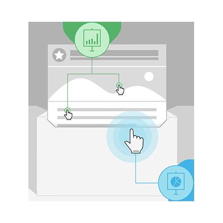 Functie open- en klikratio
