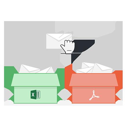 functies PDF- Excel reports
