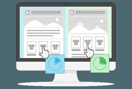 Nieuwsbrief e-commerce functie A/B testen