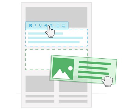 Nieuwsbrief software verenigingen editor