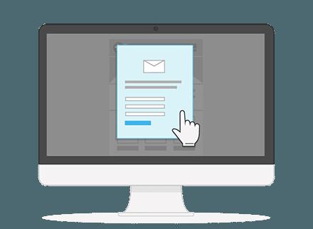 Nieuwsbrief software verenigingen email desktop