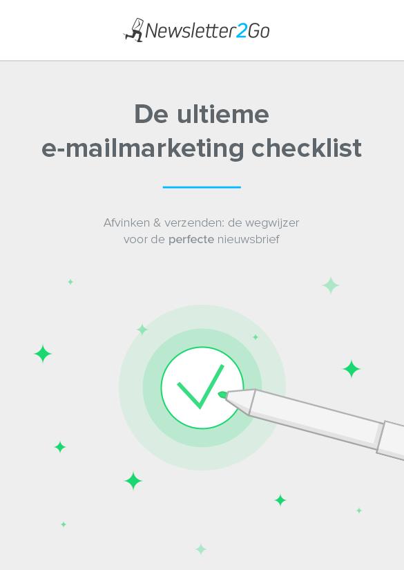 E-mailmarketing checklist teaser