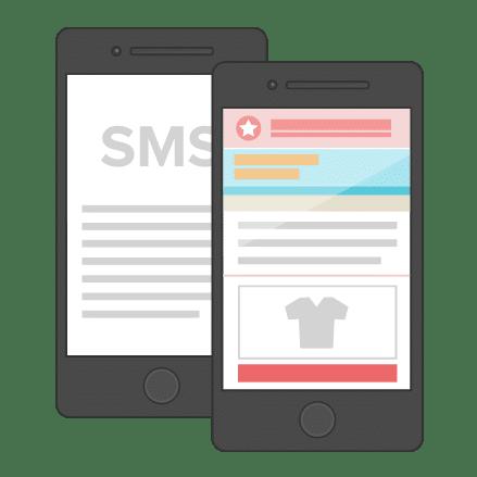 Nieuwsbrief sms email verzenden
