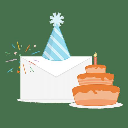 Autoresponder verjaardagsmailing
