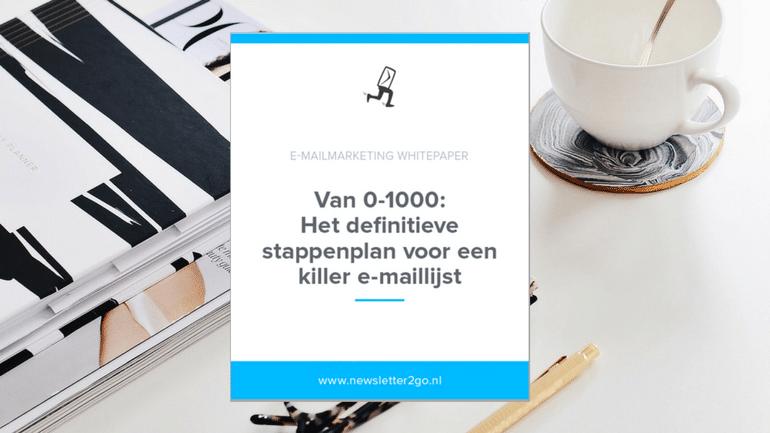 Newsletter2Go whitepaper bloggers influencers