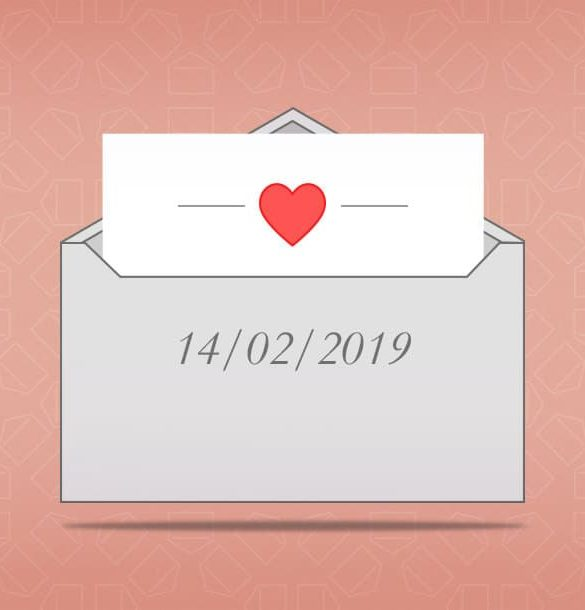 Valentijnsdag nieuwsbrief