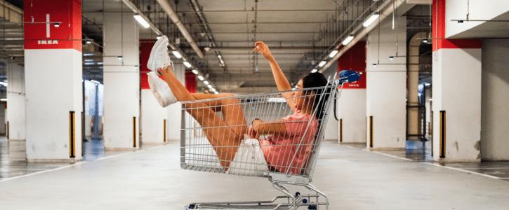 Verlaten winkelwagen remarketing