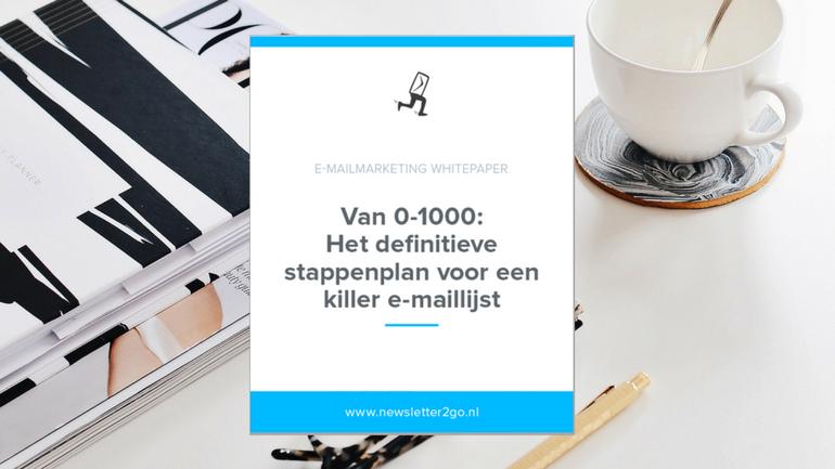 Killer email lijst whitepaper