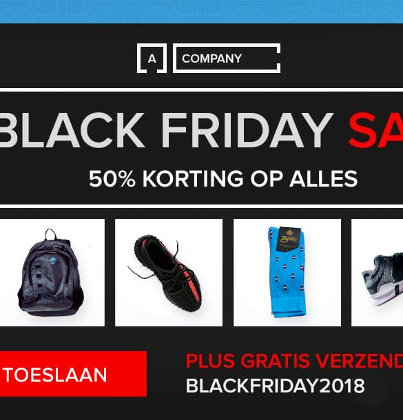 Black Friday e-mails
