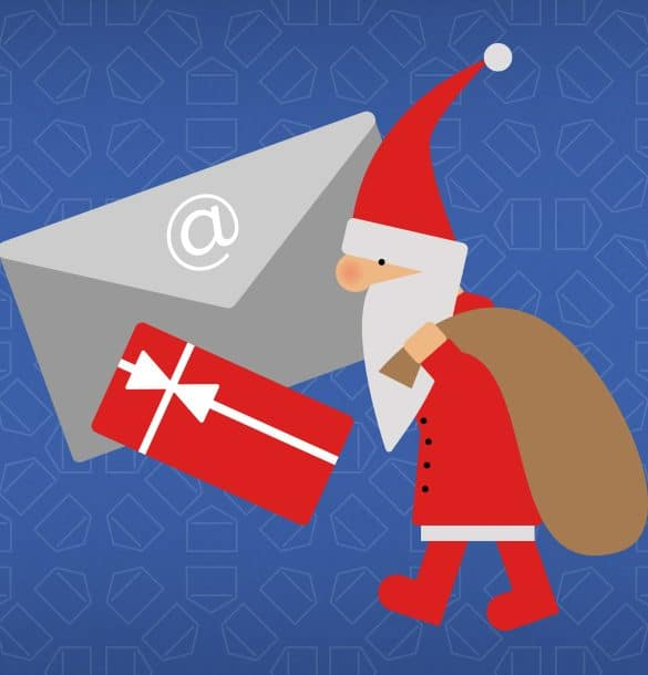 Voucher kerstmis email