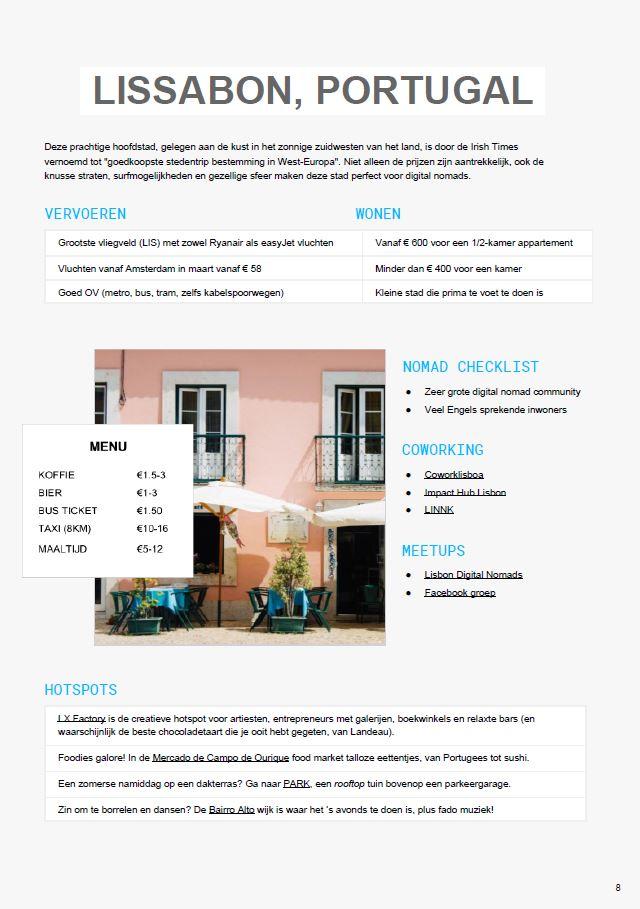 Lissabon city report digital nomad magazine