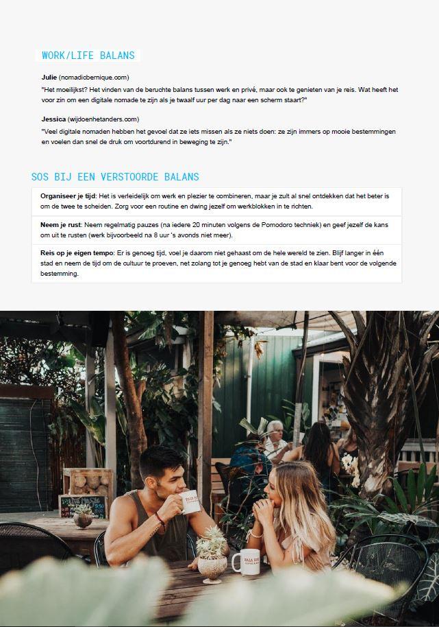 Work life balans digital nomad magazine